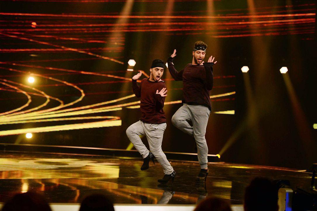 Got-To-Dance-M-C-Heels-01-SAT1-ProSieben-Willi-Weber - Bildquelle: SAT.1/ProSieben/Willi Weber
