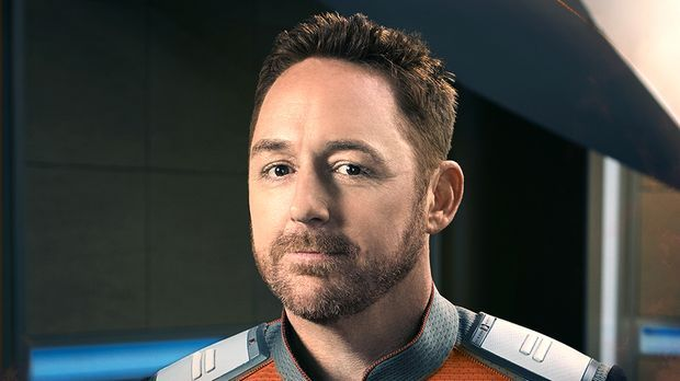 Scott Grimes spielt Lieutenant Gordon Malloy in The Orville