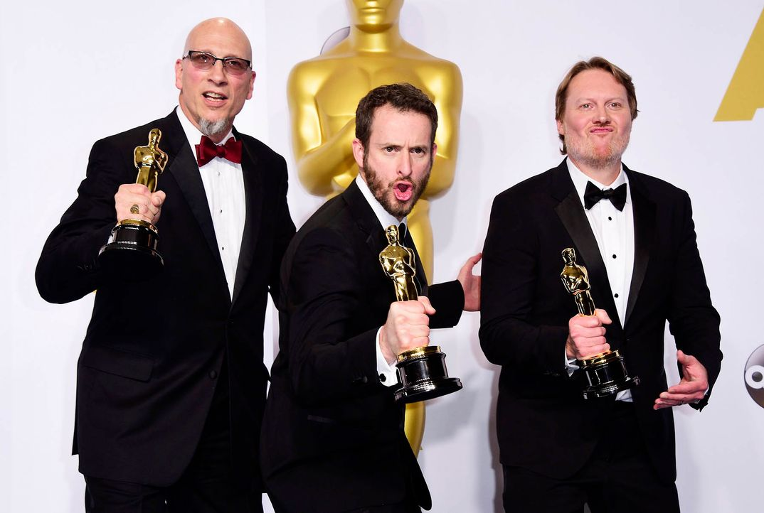Oscars-Roy-Conti-Chris-Williams-Don-Hall-15-02-22-dpa - Bildquelle: dpa