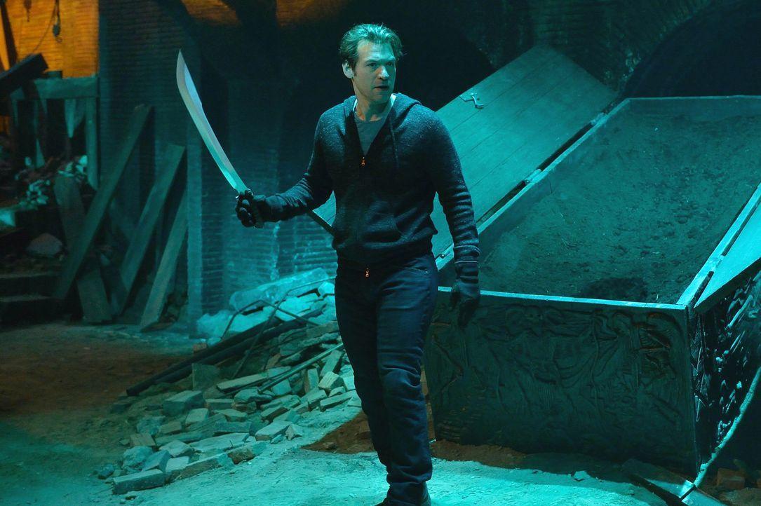 Kann Eph (Corey Stoll) den Master in den Tunneln unter der Stadt finden und besiegen oder fällt er dem Vampir zum Opfer? - Bildquelle: 2014 Fox and its related entities. All rights reserved.