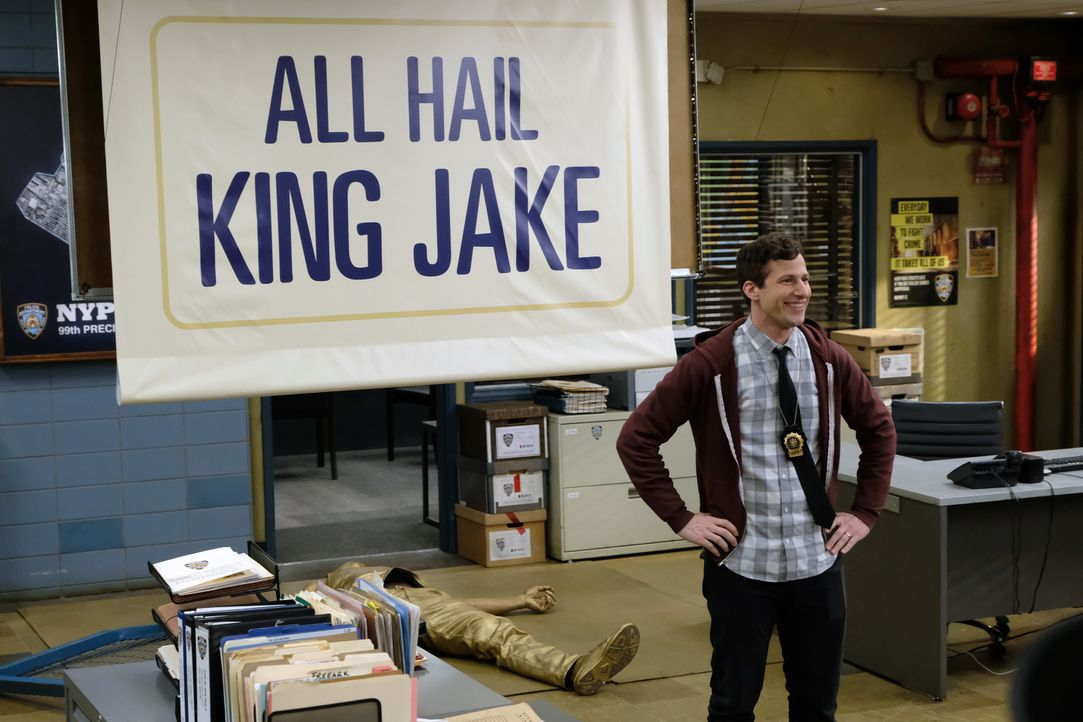 Jake Peralta (Andy Samberg) - Bildquelle: John P. Fleenor 2019 UNIVERSAL TELEVISION LLC. All rights reserved. / John P. Fleenor