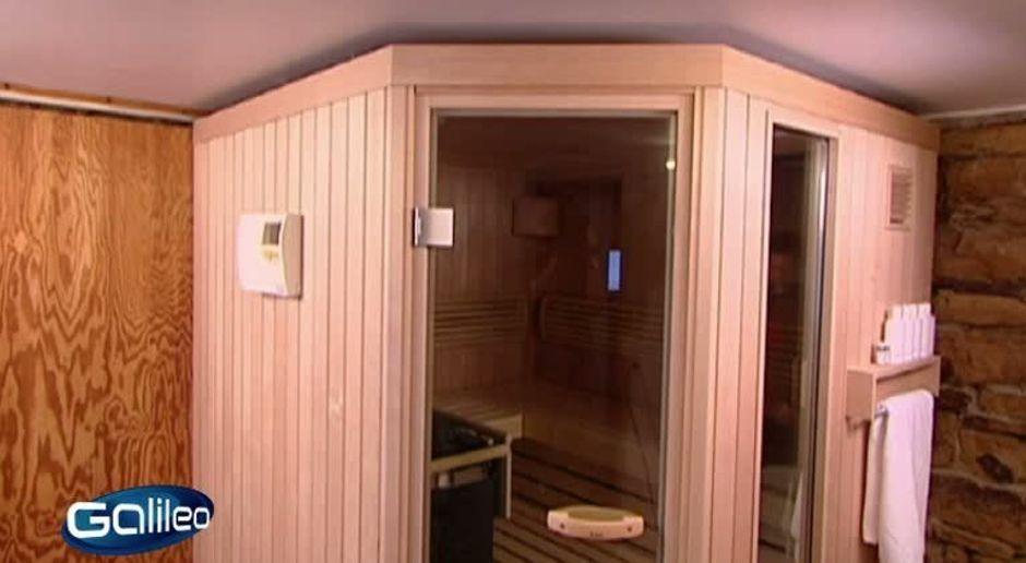 Bevorzugt Galileo - Video - Sauna zum selber bauen - ProSieben MC81