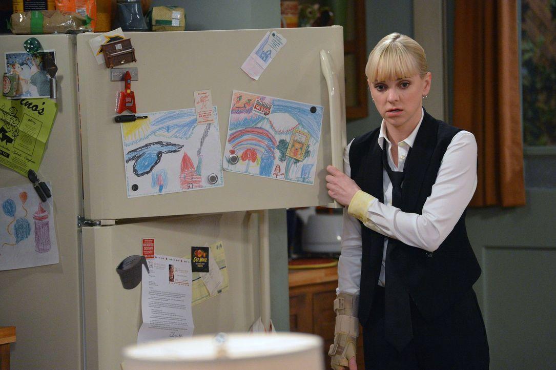 An manchen Abenden fällt es Christy (Anna Faris) schwer, nicht wieder zur Flasche zu greifen, so stressig ist ihr Alltag als alleinerziehende Mutter... - Bildquelle: Warner Brothers Entertainment Inc.