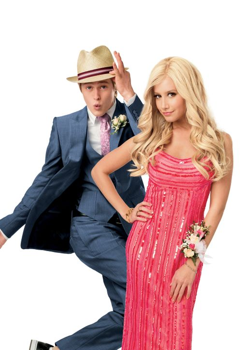 Sowohl Sharpay (Ashley Tisdale, r.) als auch ihr Bruder Ryan (Lucas Grabeel, l.) haben sich auf das einzige, begehrte Juilliard-Stipendium beworben.... - Bildquelle: Disney Enterprises, Inc.  All rights reserved.