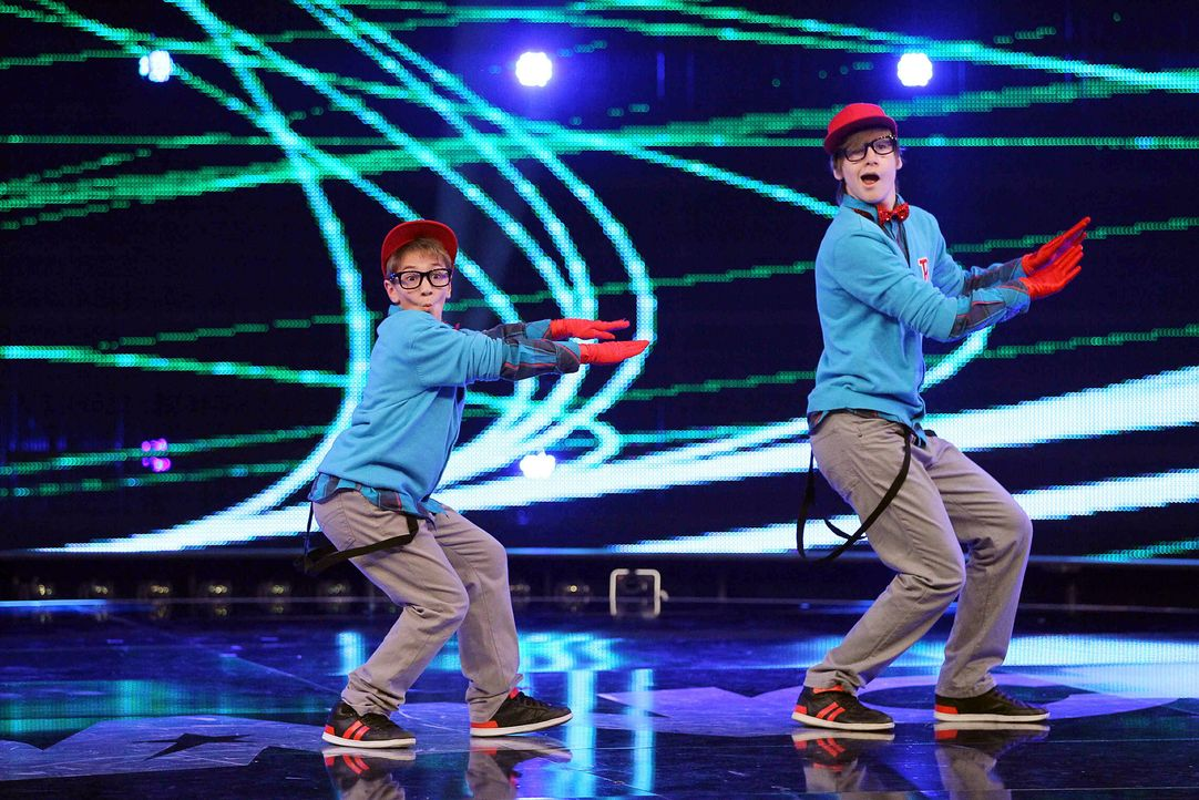 Got-To-Dance-Ricardo-und-Janik-05-SAT1-ProSieben-Guido-Engels - Bildquelle: SAT.1/ProSieben/Guido Engels