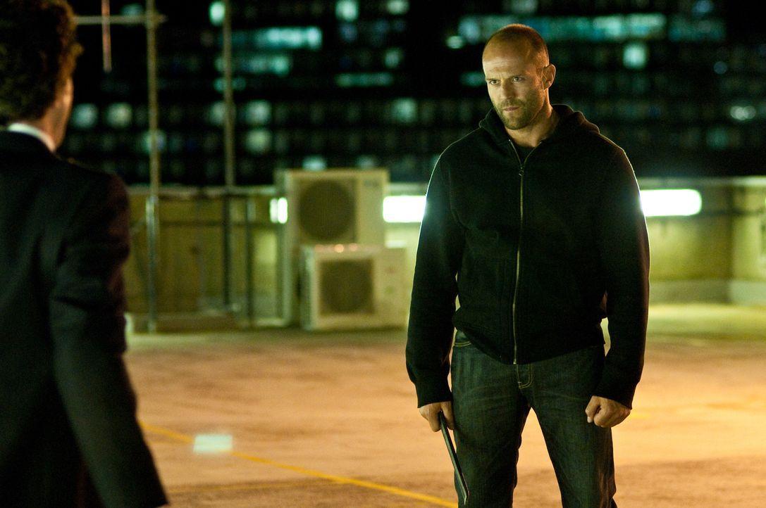 Ermittelt gerne mit schmerzhaften Argumenten: der toughe Cop Brant (Jason Statham, r.) ...