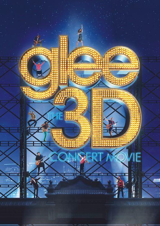 GLEE ON TOUR - DER 3D FILM - Artwork - Bildquelle: TM and   2011 Twentieth Century Fox Film Corporation.  All rights reserved.