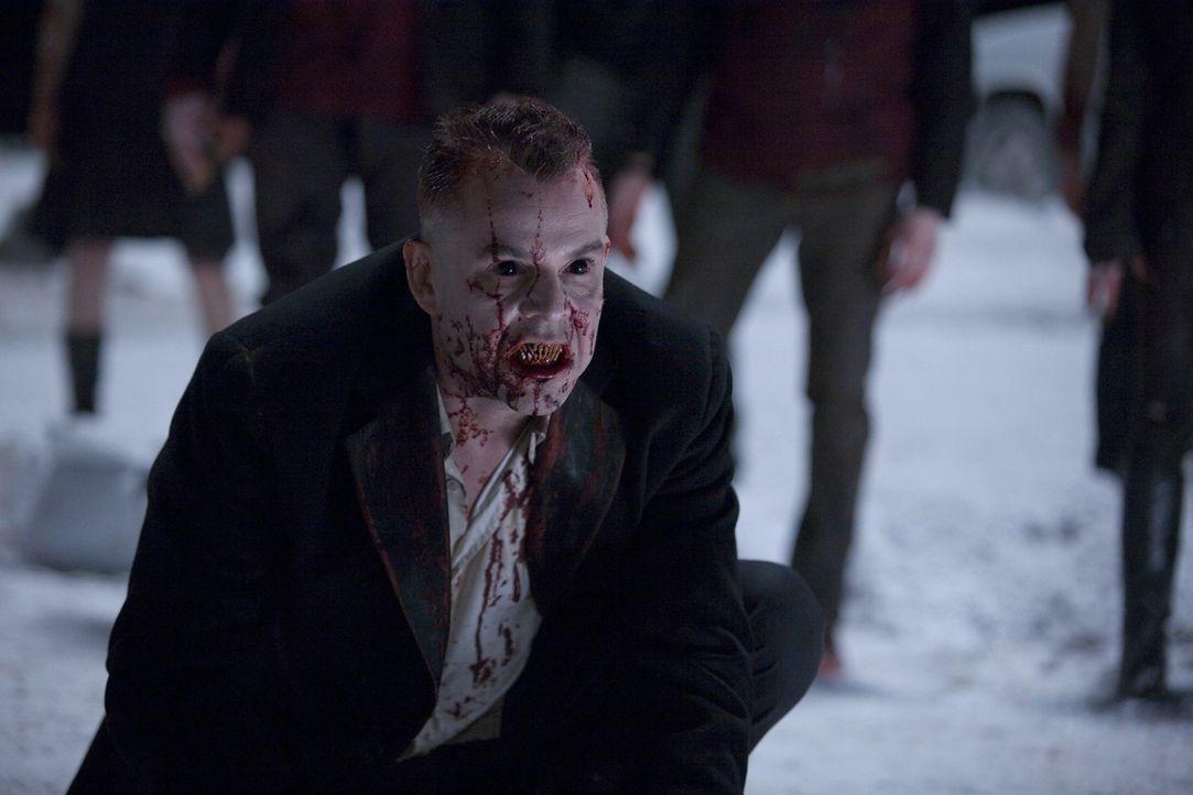 Kann nur mit seinen eigenen Waffen vernichtet werden: der Vampirboss Marlow (Danny Huston) ... - Bildquelle: 2007 Columbia Pictures Industries, Inc. All Rights Reserved.