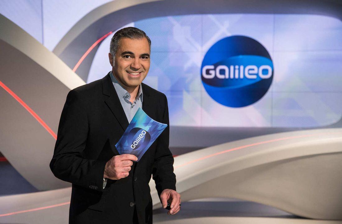 """""""Galileo"""" das Wissensmagazin wird von Aiman Abdallah präsentiert. - Bildquelle: Benedikt Müller ProSieben"""