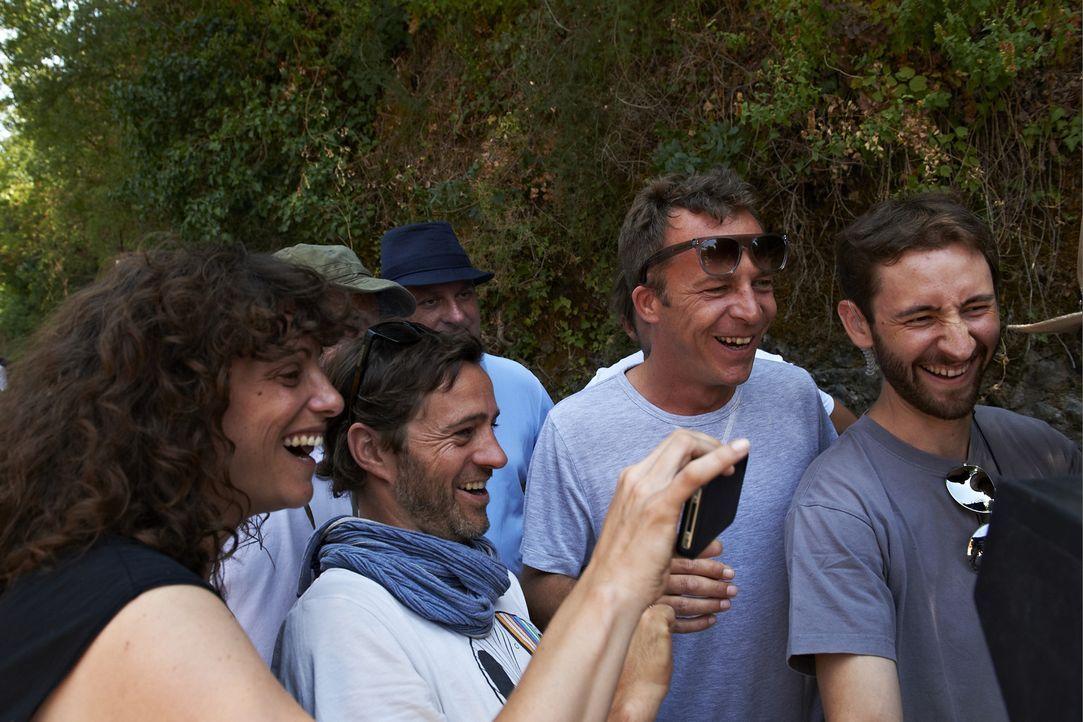 Von der Vorproduktion bis zu den Dreharbeiten hatten Film-Fans aus ganz Europa die Möglichkeit, aktiv Elemente für das Road-Movie beizusteuern - v... - Bildquelle: Telekom