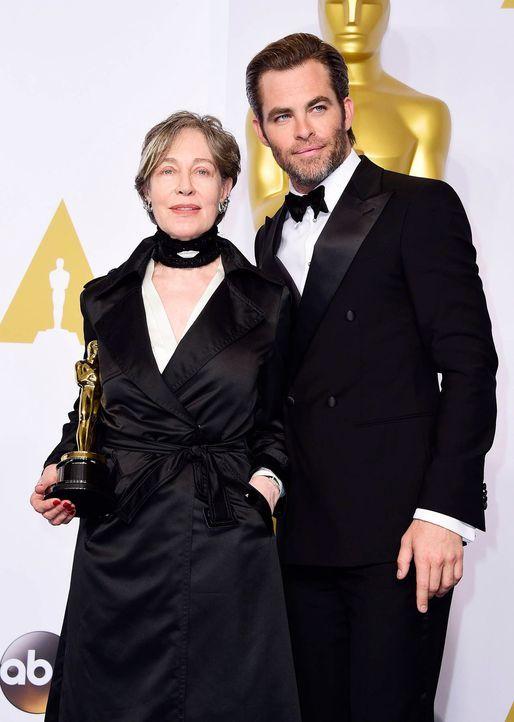 Oscars-Milena-Canonero-Chris-Pine-15-02-22-dpa - Bildquelle: dpa