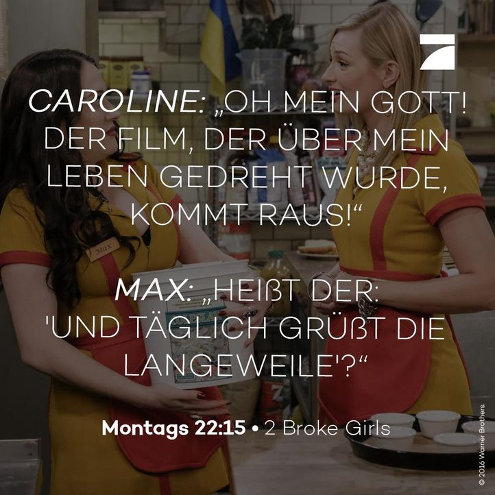 Caroline und Max Staffel 6 Episode 21 - Bildquelle: Warner Bros. Television