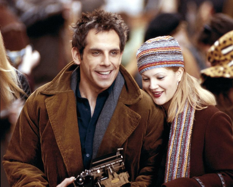 Als das frisch verheiratete, erfolgreiche Paar Alex (Ben Stiller, l.) und Nancy (Drew Barrymore, r.) in Brooklyn das perfekte Haus finden, scheint i... - Bildquelle: Miramax Films.  All Rights Reserved.
