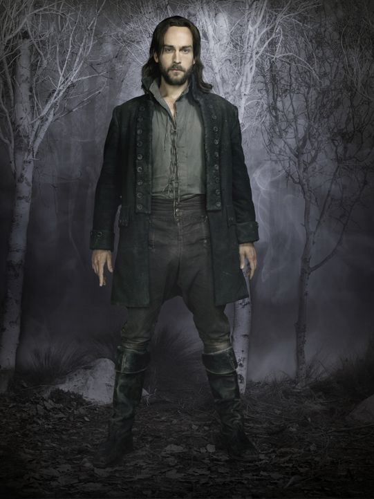 (1. Staffel) - Eines Tages findet sich Ichabod Crane (Tom Mison), der Captain aus dem amerikanischen Unabhängigkeitskrieg, im Jahr 2013 in Sleepy H... - Bildquelle: 2013 Twentieth Century Fox Film Corporation. All rights reserved.