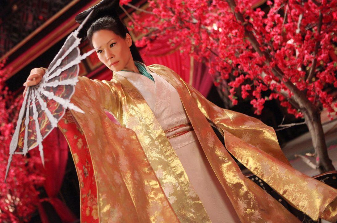Eine große Ladung Gold führt zum offenen Konflikt zwischen den rivalisierende Clans in Jungle Village - aber auch Madame Blossom (Lucy Liu) und ihre... - Bildquelle: Chan Chuen Universal Pictures / Chan Chuen