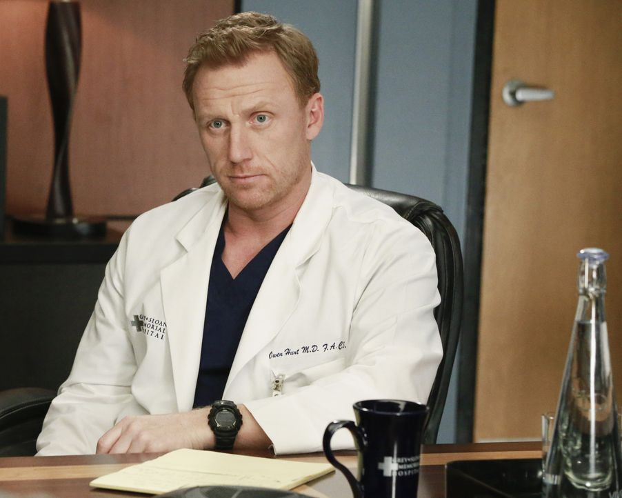 Wird darüber entscheiden, wie Bens Zukunft im Krankenhaus aussieht: Owen (Kevin McKidd) ... - Bildquelle: Mitch Haaseth ABC Studios