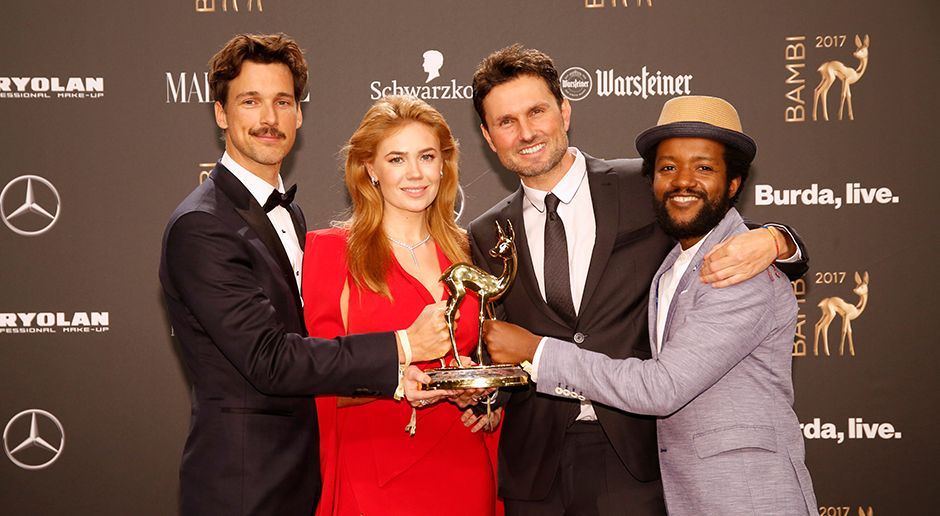 Bambi Gewinner 2017 - Bildquelle: Eventpress Golejewski für Hubert Burda Media