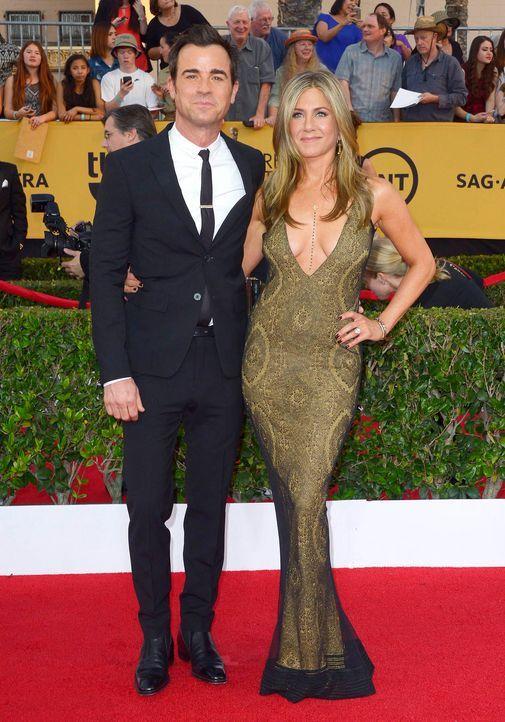 SAG-Awards-Jennifer-Anniston-Justin-Theroux-15-01-25-dpa - Bildquelle: dpa