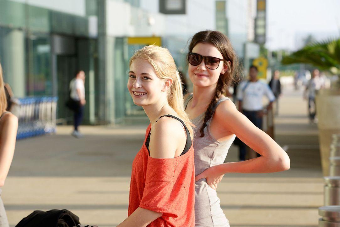 GNTM-Stf09-Epi01-Singapur-Ankunft-02-ProSieben-Oliver-S - Bildquelle: ProSieben/Oliver S.