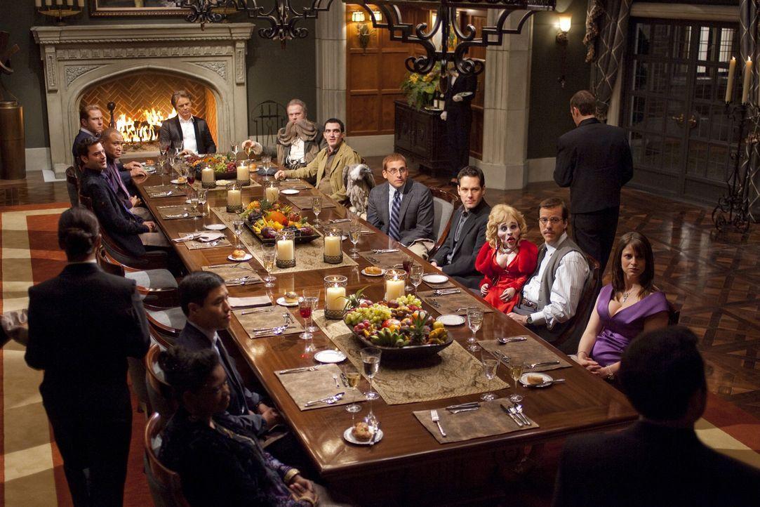 """Je oller, desto doller: Tims Chef gibt monatlich eine Dinner-Party, zu der jeder geladene Gast eine """"außergewöhnliche"""" Person mitbringen muss ... - Bildquelle: Merie Weismiller Wallace 2010 DW Studios LLC. All Rights Reserved."""