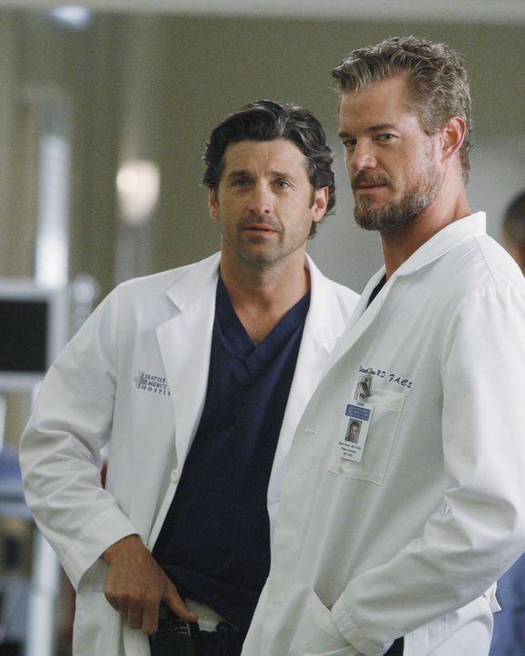 In ihrem Leben läuft nicht alles nach Plan: Derek (Patrick Dempsey, l.) und Mark (Eric Dane, r.) ... - Bildquelle: ABC Studios