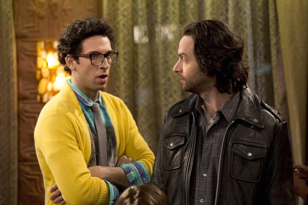 Was tun, wenn die besten Freunde keine Aufreißer sind? Danny (Chris D'Elia, r.) gibt Burski (Rick Glassman, l.) Tipps ... - Bildquelle: Warner Brothers
