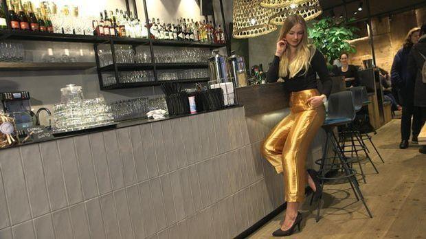 Trend 3 - Metallic-Hosen