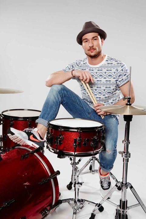 Die-Band-Drummer-Julian-02-ProSieben-Richard-Huebner - Bildquelle: ProSieben/Richard Hübner