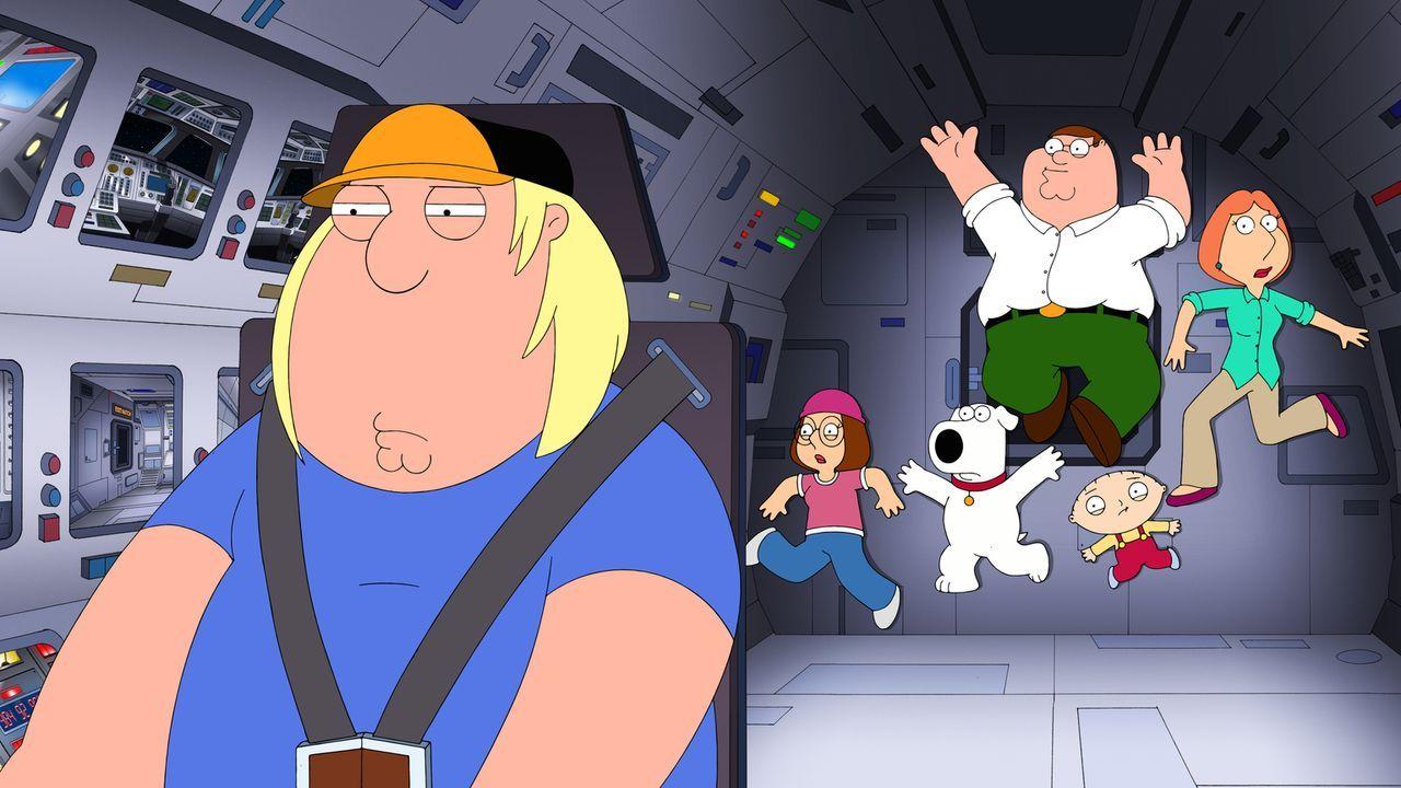 Griffins, wir haben ein Problem: (v.l.n.r.) Chris, Megan, Brian, Peter, Stewie und Lois ... - Bildquelle: 2013 Twentieth Century Fox Film Corporation. All rights reserved.