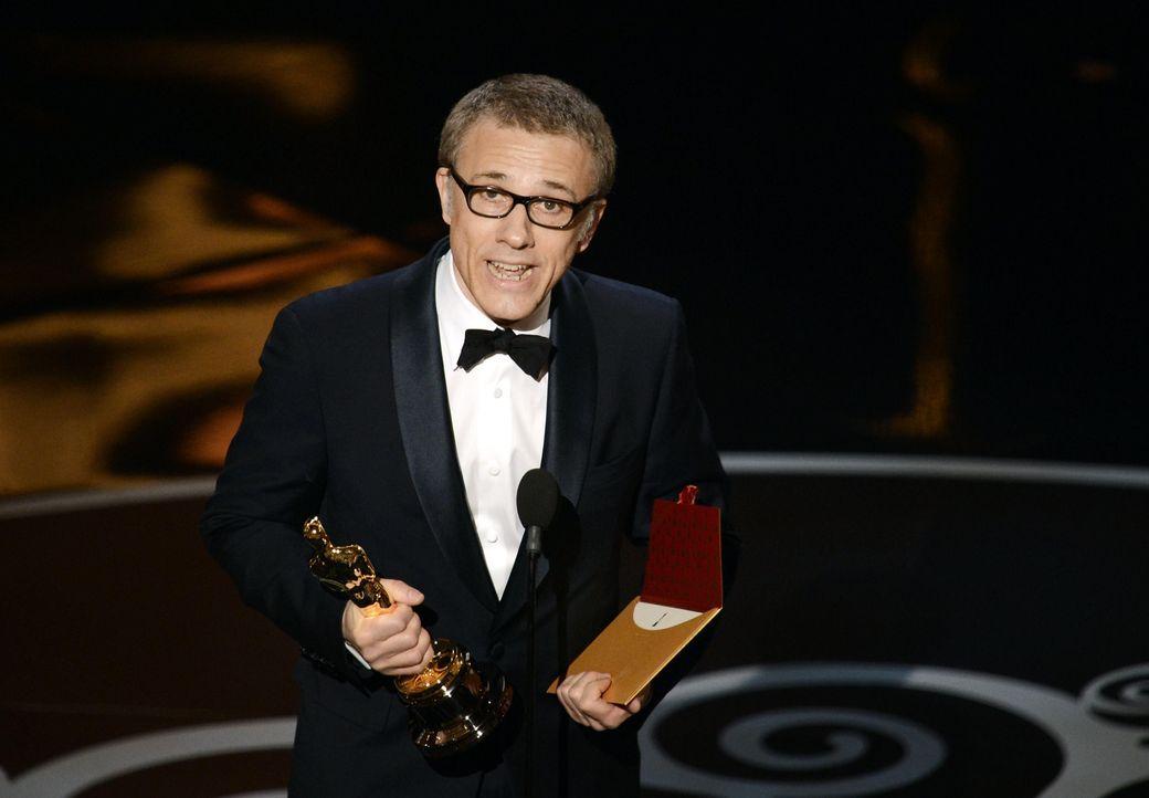 Oscar ® 2013 - Bester Nebendarsteller: Christoph Waltz - Bildquelle: AFP / GETTY IMAGES NORTH AMERICA