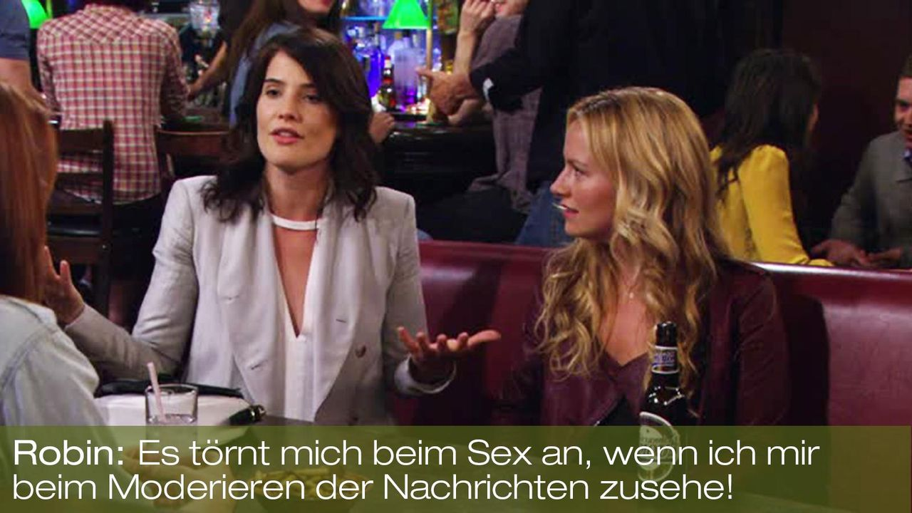 how-i-met-your-mother-zitat-quote-staffel-8-episode-2-prenup-klaus-zuhaus-9-robin-moderieren-foxpng 1600 x 900 - Bildquelle: 20th Century Fox
