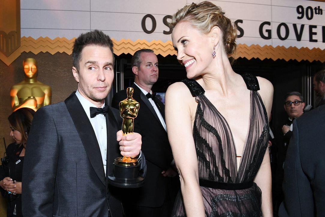 Sam-Rockwell-Ehefrau-Leslie-Bibb-AFP-ANGELA-WEISS - Bildquelle: AFP / ANGELA WEISS