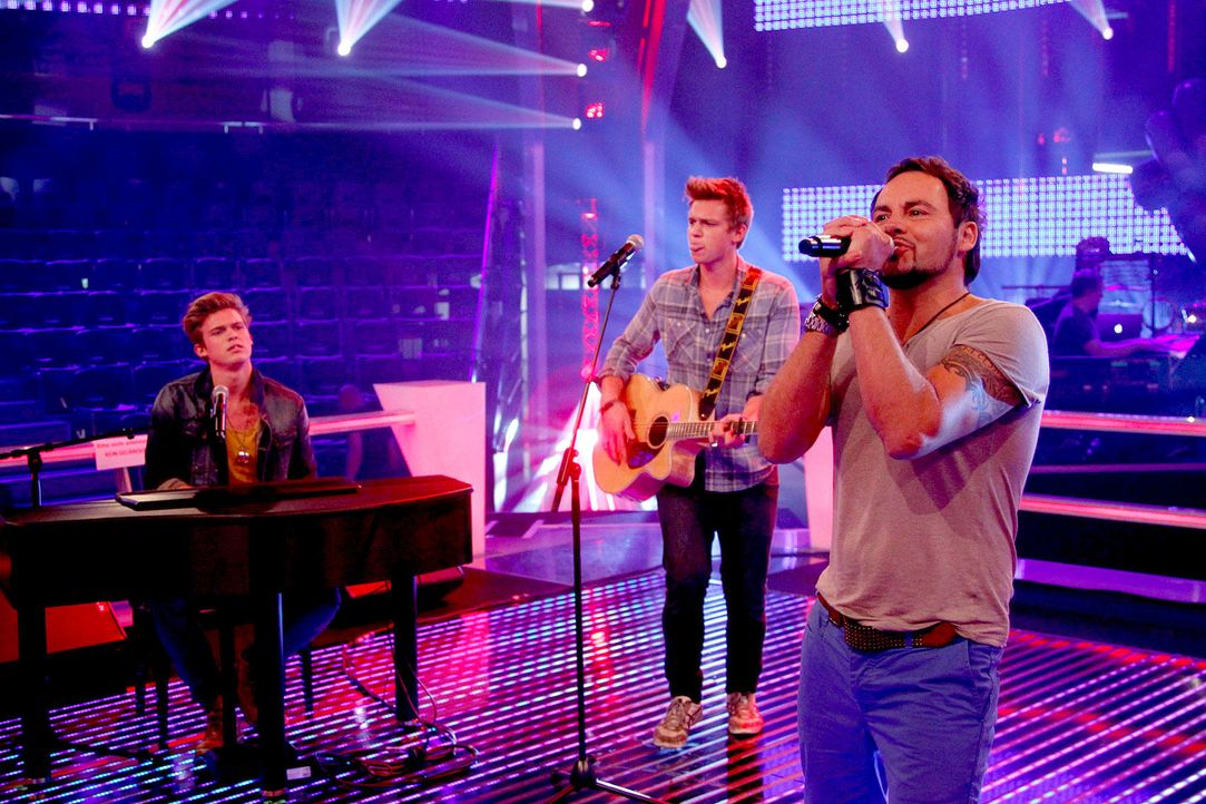 battle-rob-02-the-voice-of-germany-richard-huebnerjpg 1700 x 1133 - Bildquelle: SAT.1/ProSieben/Richard Hübner