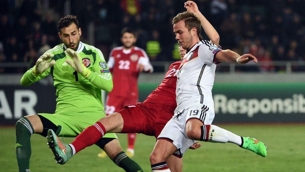 Länderspiel Georgien Deutschland