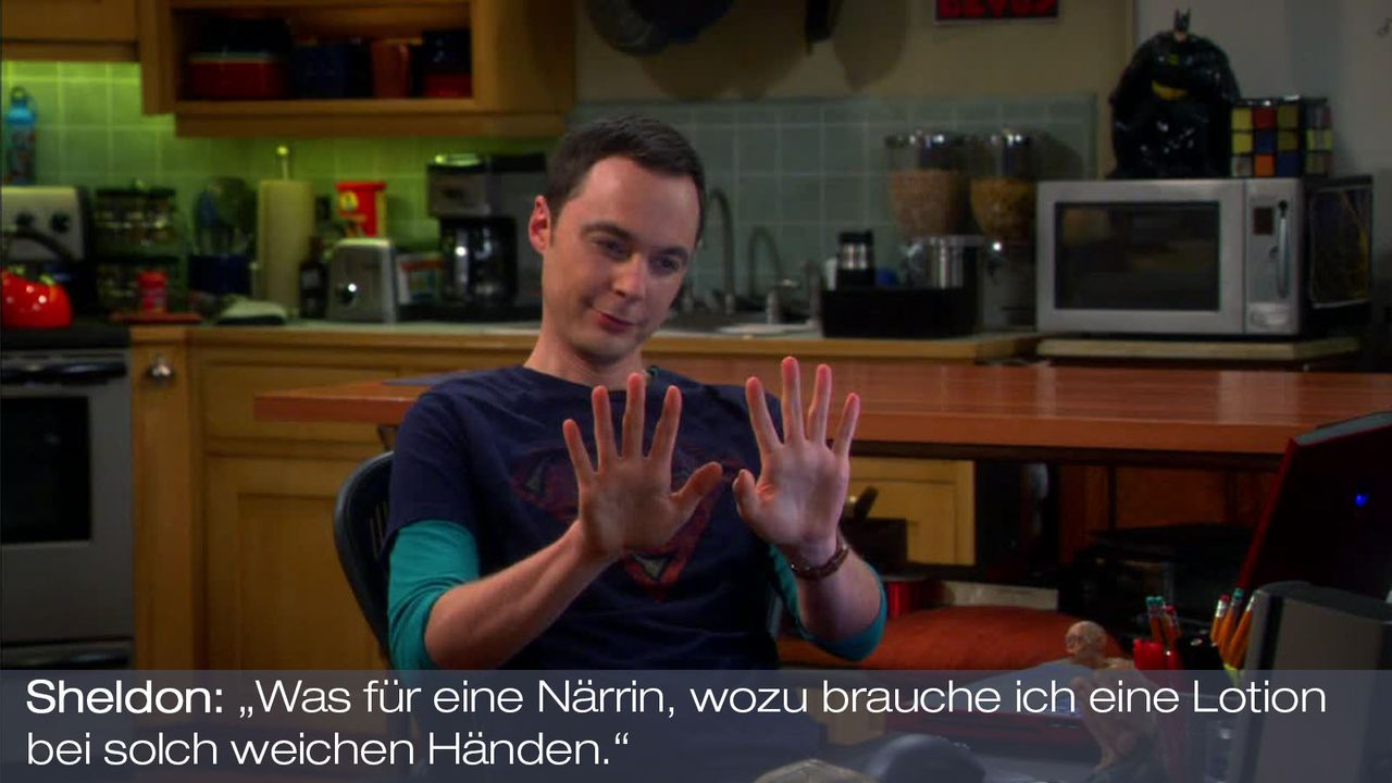 Staffel 7 Folge 4 - Zitat 11 - Bildquelle: Warner Bros. Television