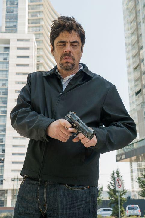 Alejandro (Benicio del Toro) - Bildquelle: Richard Foreman 2018 Soldado Movie, LLC. All Rights Reserved. / Richard Foreman