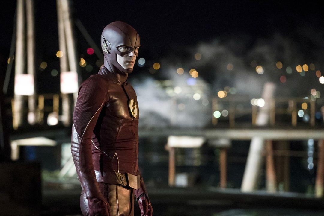 Seitdem er die Vergangenheit verändert hat, muss Barry mit den Auswirkungen zurechtkommen - immer noch in dem Glauben, die Zukunft zum Besseren verä... - Bildquelle: 2016 Warner Bros.