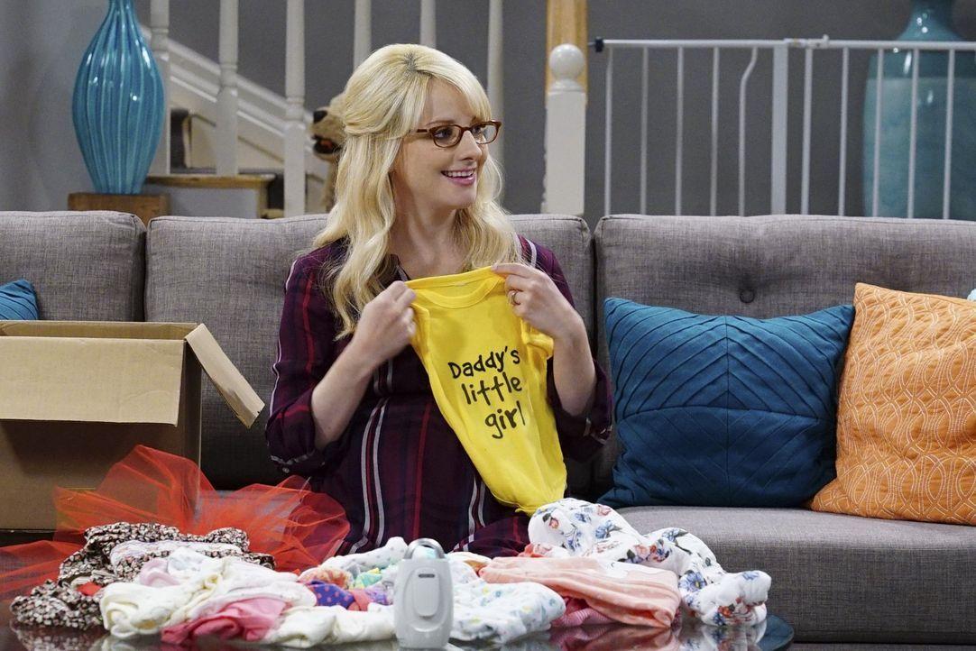 Die Geburt ihres zweiten Kindes rückt immer näher: Bernadette (Melissa Rauch) ... - Bildquelle: Warner Bros. Television