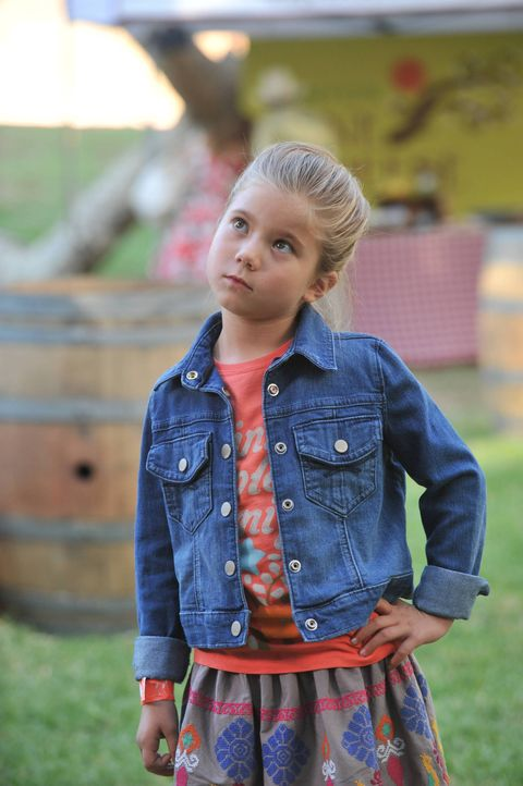 Natalie (Rachel Eggleston) zeigt ihren Eltern immer wieder, wer bei ihnen wirklich der Boss ist und treibt Polly damit fast in den Wahnsinn ... - Bildquelle: 2013 American Broadcasting Companies. All rights reserved.