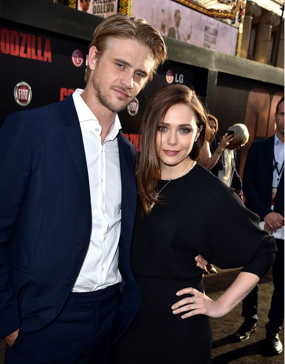 Elizabeth-Olsen-Boyd-Holbrook-140508-getty-AFP - Bildquelle: getty-AFP