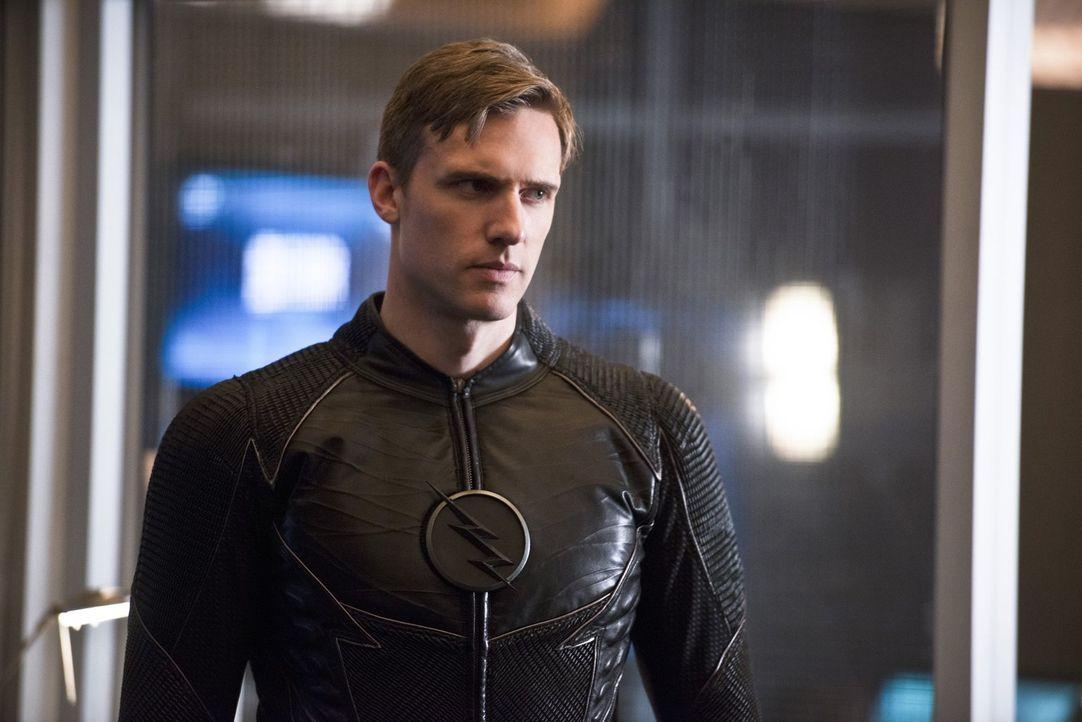 Bekommt Hunter alias Zoom (Teddy Sears) tatsächlich das, was er sich schon ewig gewünscht hat - Flashs Schnelligkeit? - Bildquelle: Warner Bros. Entertainment, Inc.