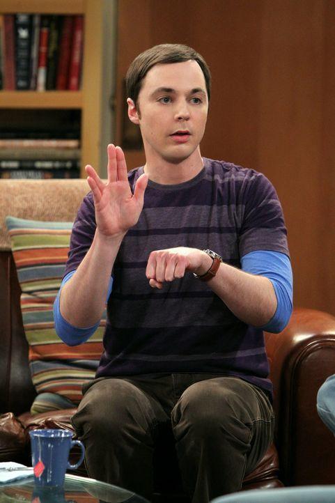 Als ein Büro in der Universität frei wird, muss Sheldon (Jim Parsons) gegen seinen Erzfeind Kripke antreten, um es zu bekommen ... - Bildquelle: Warner Bros. Television