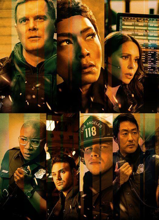 (3. Staffel) - 9-1-1 Notruf L.A. - Artwork - Bildquelle: 2019-2020 Twentieth Century Fox Film Corporation.  All rights reserved.