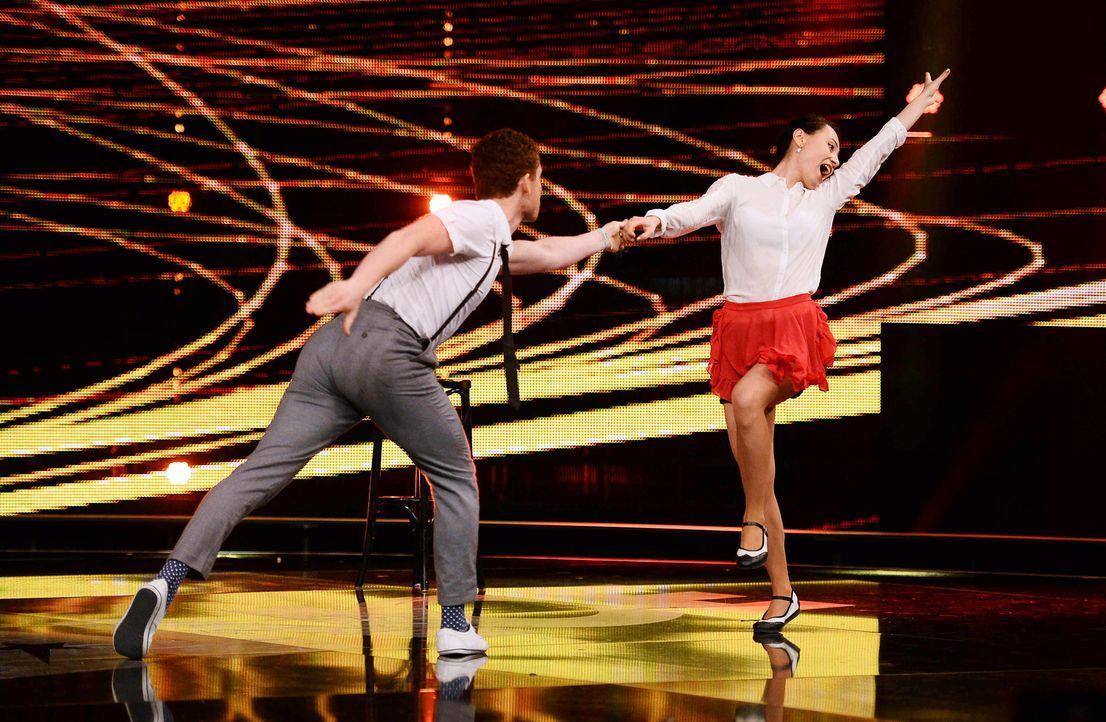 Got-To-Dance-Daniel-und-Claire-03-SAT1-ProSieben-Willi-Weber - Bildquelle: SAT.1/ProSieben/Willi Weber