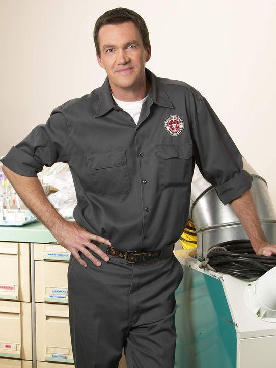 (4. Staffel) - Der Hausmeister (Neil Flynn) des Sacred Heart Hospitals macht insbesondere J.D. das Leben schwer ... - Bildquelle: Touchstone Television