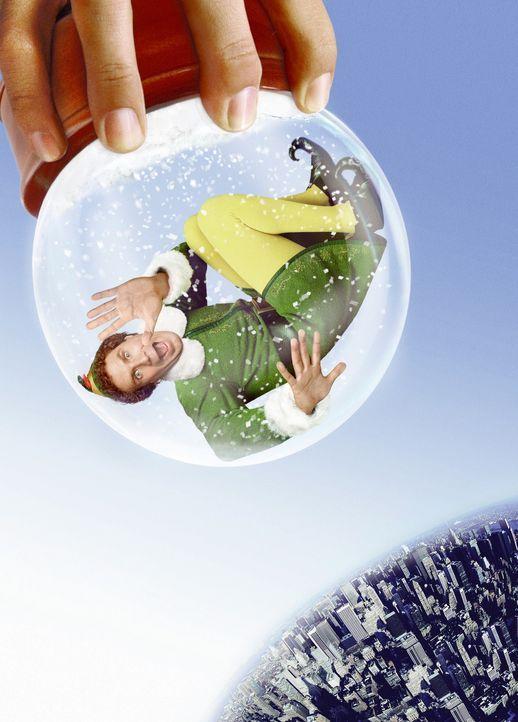 Buddy (Will Ferrell) ist als Kind vom Weihnachtsmann aus Versehen zum Nordpol mitgenommen worden und wuchs dort in dem Glauben auf, ein märchenhaft... - Bildquelle: Warner Bros. Television