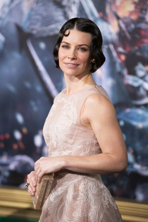 Evangeline-Lilly-The-Hobbit-The-Battle-of-the-Five-Armies-WENN-com - Bildquelle: WENN.com