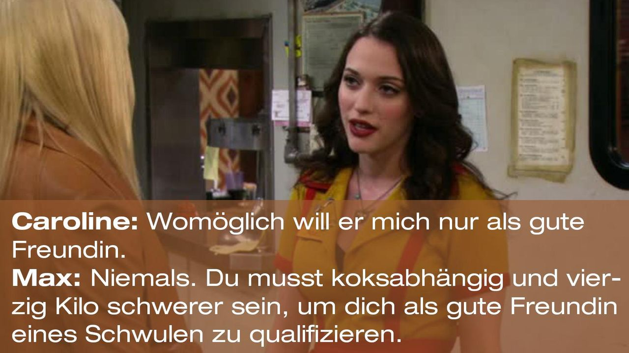 2-broke-girls-zitat-quote-staffel2-episode7-candy-andy-dandy-max-schwulenfreundin-warnerpng 1600 x 900 - Bildquelle: Warner Brothers Entertainment Inc.