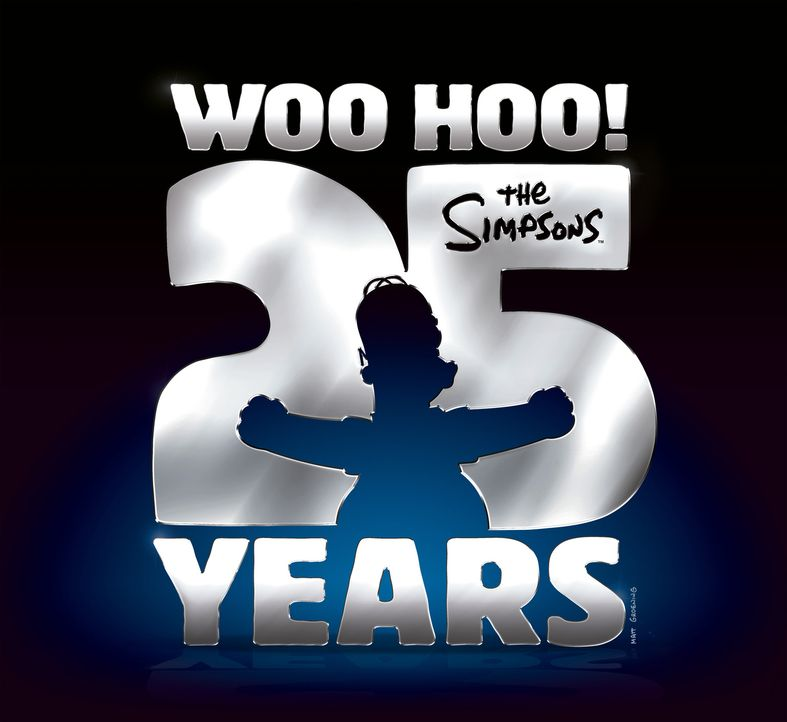 (25. Staffel) - 25 Jahre - The Simpsons - Logo - Bildquelle: 2014 Twentieth Century Fox Film Corporation. All rights reserved.