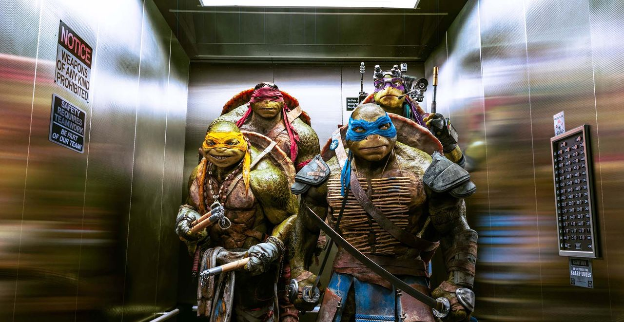 teenage-mutant-ninja-turtles-39-Paramount-Pictures - Bildquelle: Paramount Pictures